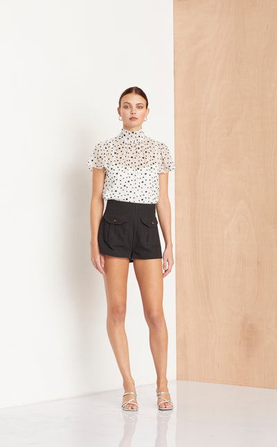 SALUT SHORT - BLACK
