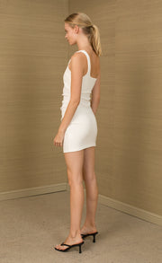 PALOMA MINI DRESS - IVORY