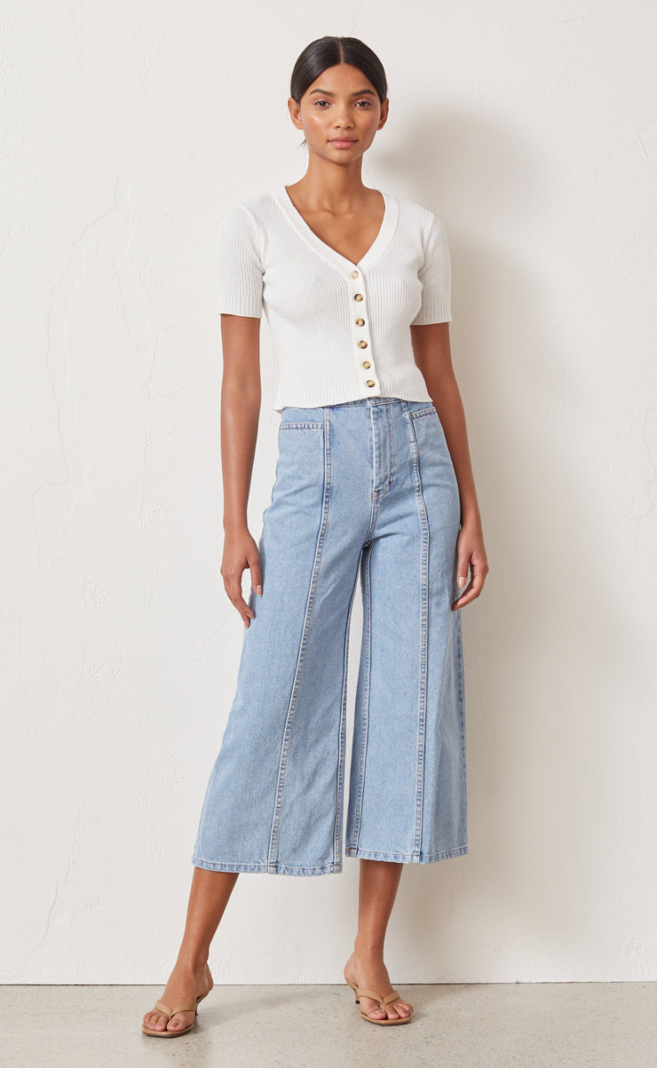 GWEN CULOTTE - DENIM