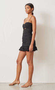 COLETTE MINI DRESS - BLACK