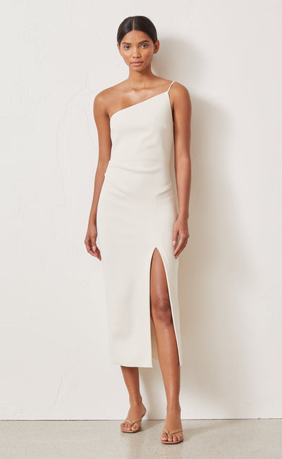 RAPHAELA MIDI DRESS - VANILLA BEAN