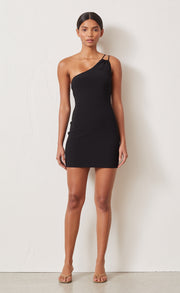 EMERALD AVENUE MINI DRESS - BLACK