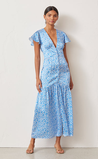 ALIZEE MIDI DRESS - PRINT