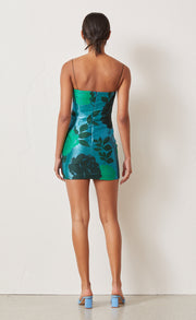 SPARKLE SOIREE MINI DRESS - LUREX