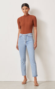 TOULOUSE KNIT TOP - BURNT COPPER