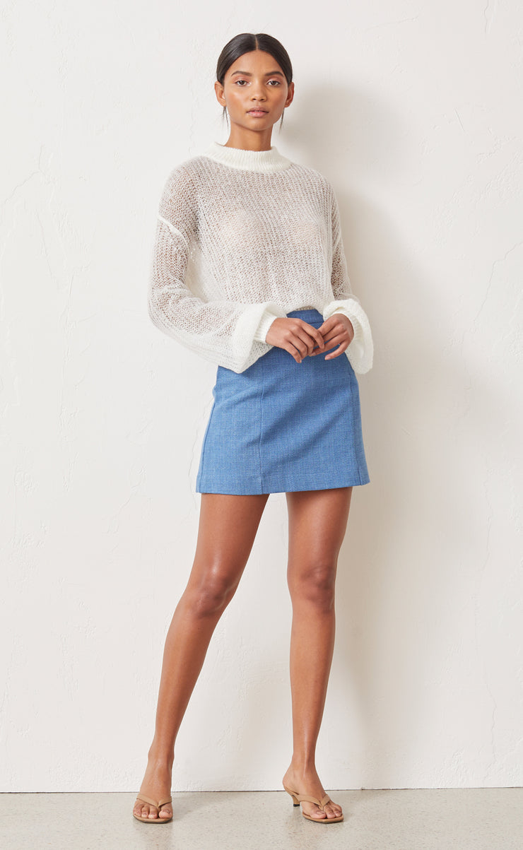 ALBI KNIT JUMPER - IVORY