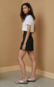 OLIVIER MINI SKIRT - BLACK