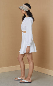 MADELEINE MINI DRESS - IVORY