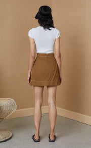 CLEMENTINE MINI SKIRT - GINGER