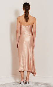 MOON DANCE WRAP DRESS - DUSTY ROSE