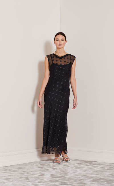 HEAVENLY DRESS - BLACK