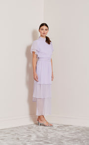 LOVE FOOL TIERED DRESS - LILAC