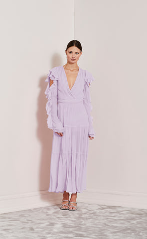 LOVE FOOL DRESS - LILAC