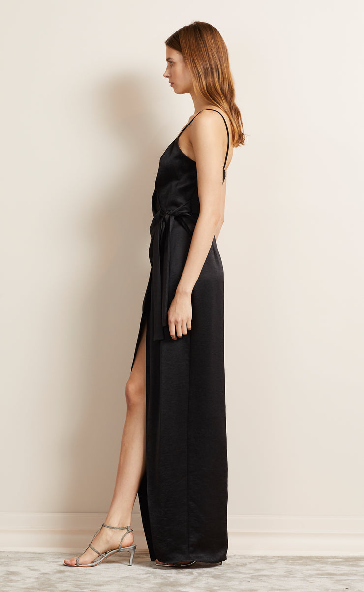 ALL NIGHT MAXI DRESS - BLACK