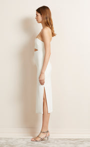 BE MINE CUT OUT DRESS - IVORY