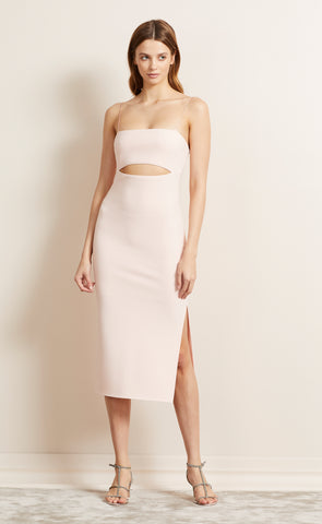 BE MINE CUT OUT DRESS - BLUSH