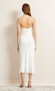 HEARTBEAT SLIP DRESS - IVORY