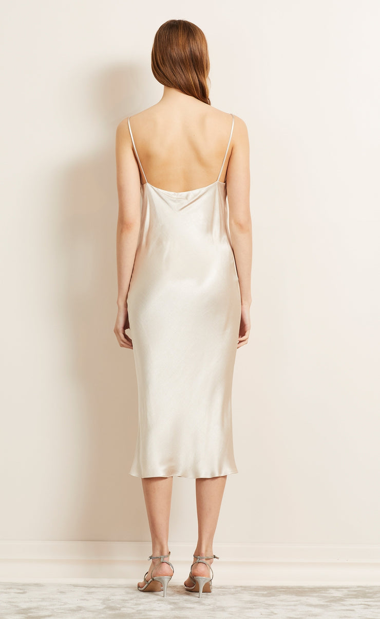 MOON DANCE SLIP DRESS - SAND