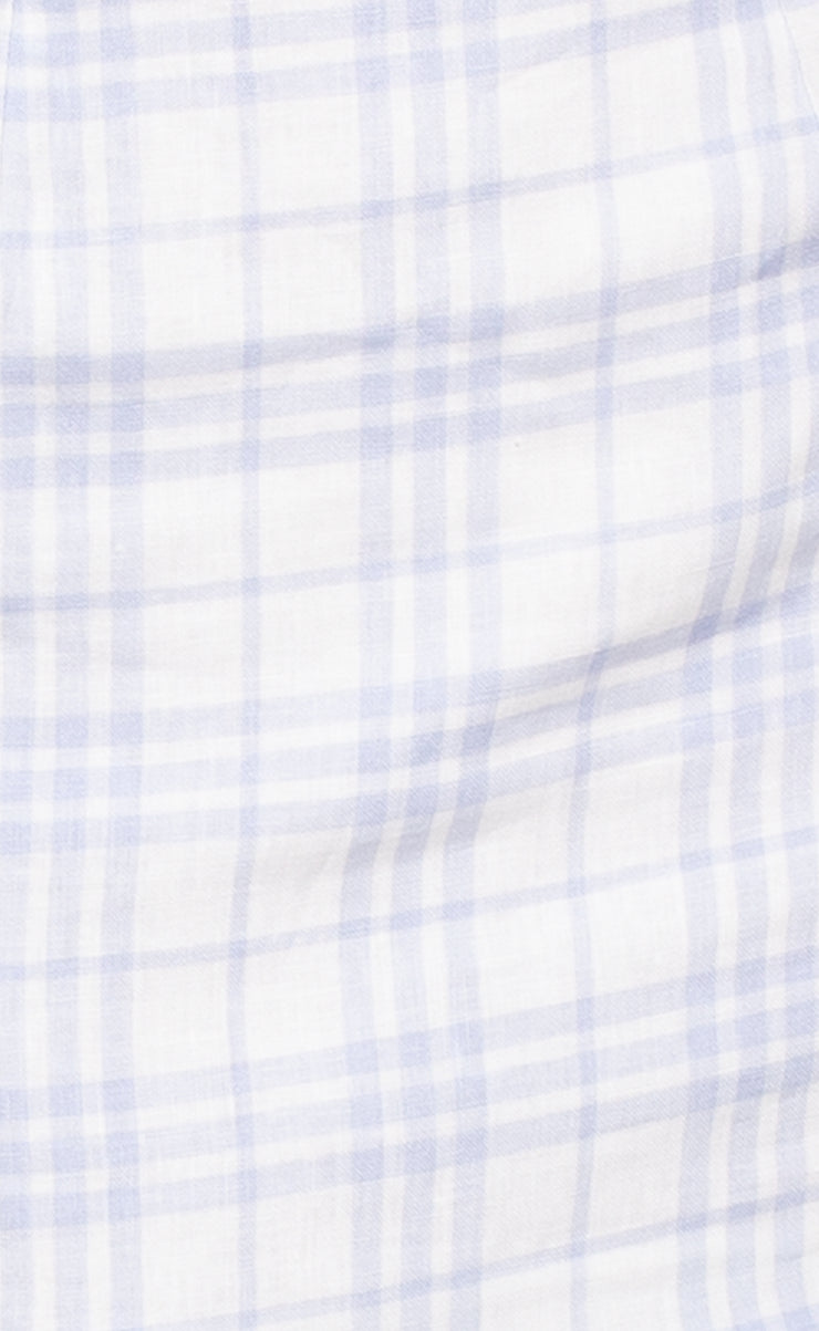 ALEXA MINI SKIRT - BLUE CHECK