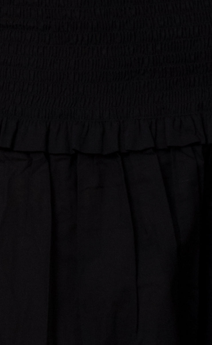 CARRIE MAXI SKIRT - BLACK