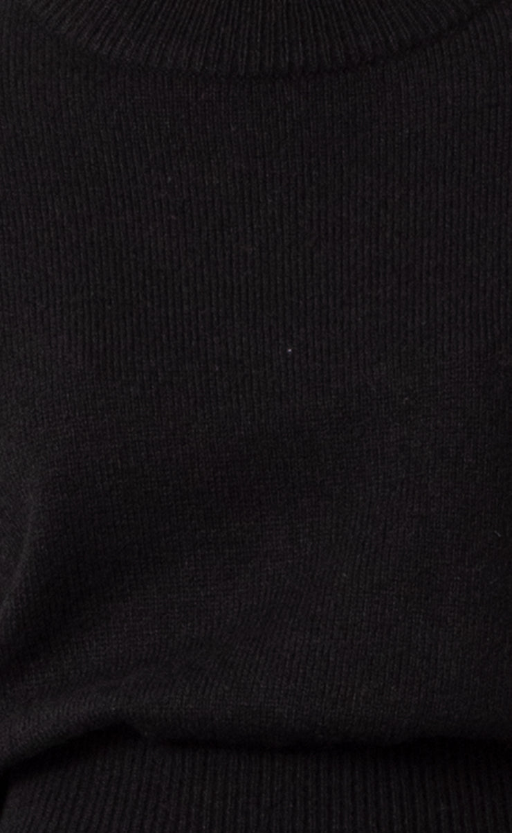 EVA KNIT JUMPER - BLACK