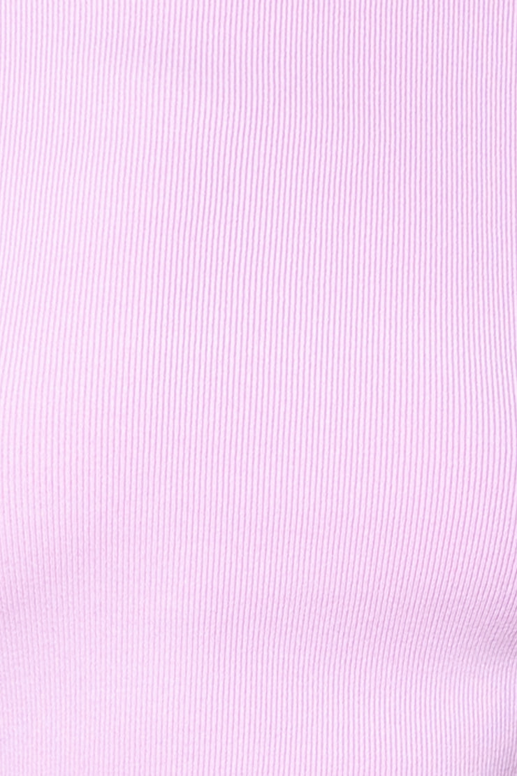 LIOR KNIT TOP - LILAC