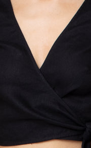 MADELEINE TOP - BLACK