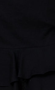 MARLA MINI SKIRT - BLACK