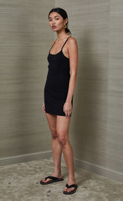 RIVIERA MINI DRESS - BLACK