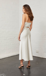 CLAUDIA CUT OUT DRESS - CHAMPAGNE