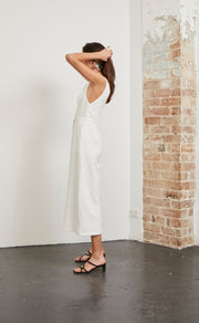 NATURAL WOMAN JUMPSUIT - CHALK