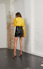 SLICK RICK SKIRT - BLACK