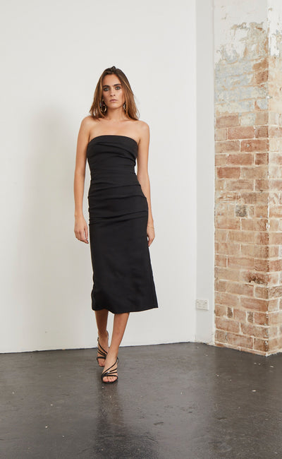 SIMPLY IRRESISTABLE DRESS - BLACK