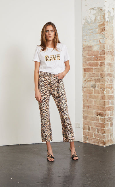 RAVE CAVE TEE - IVORY