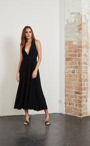 ELECTRIC BOOGIE DRESS - BLACK