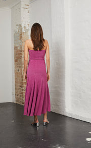 ELECTRIC BOOGIE SKIRT - MAGENTA