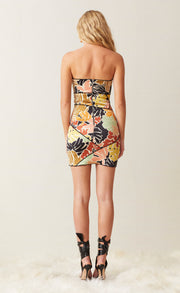 BABELINI MINI DRESS - FLORAL