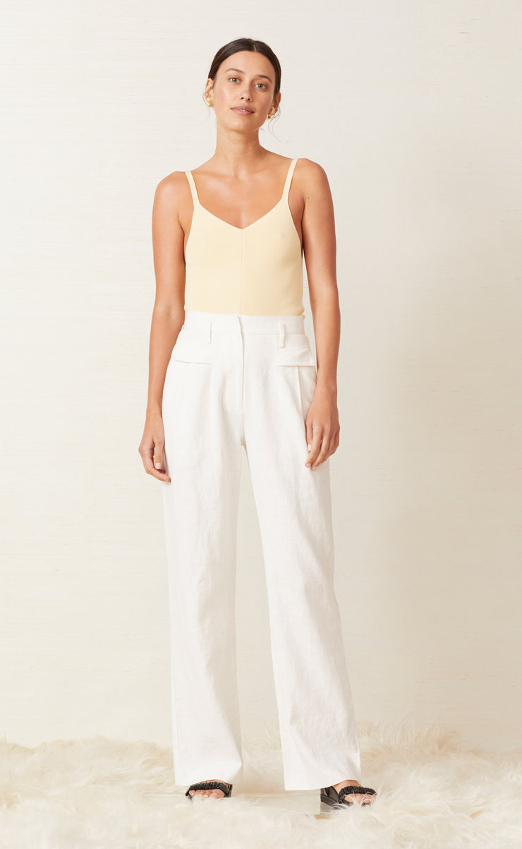 HARLOW PANT - IVORY