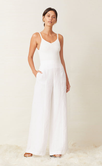 EVELYN PANT - IVORY