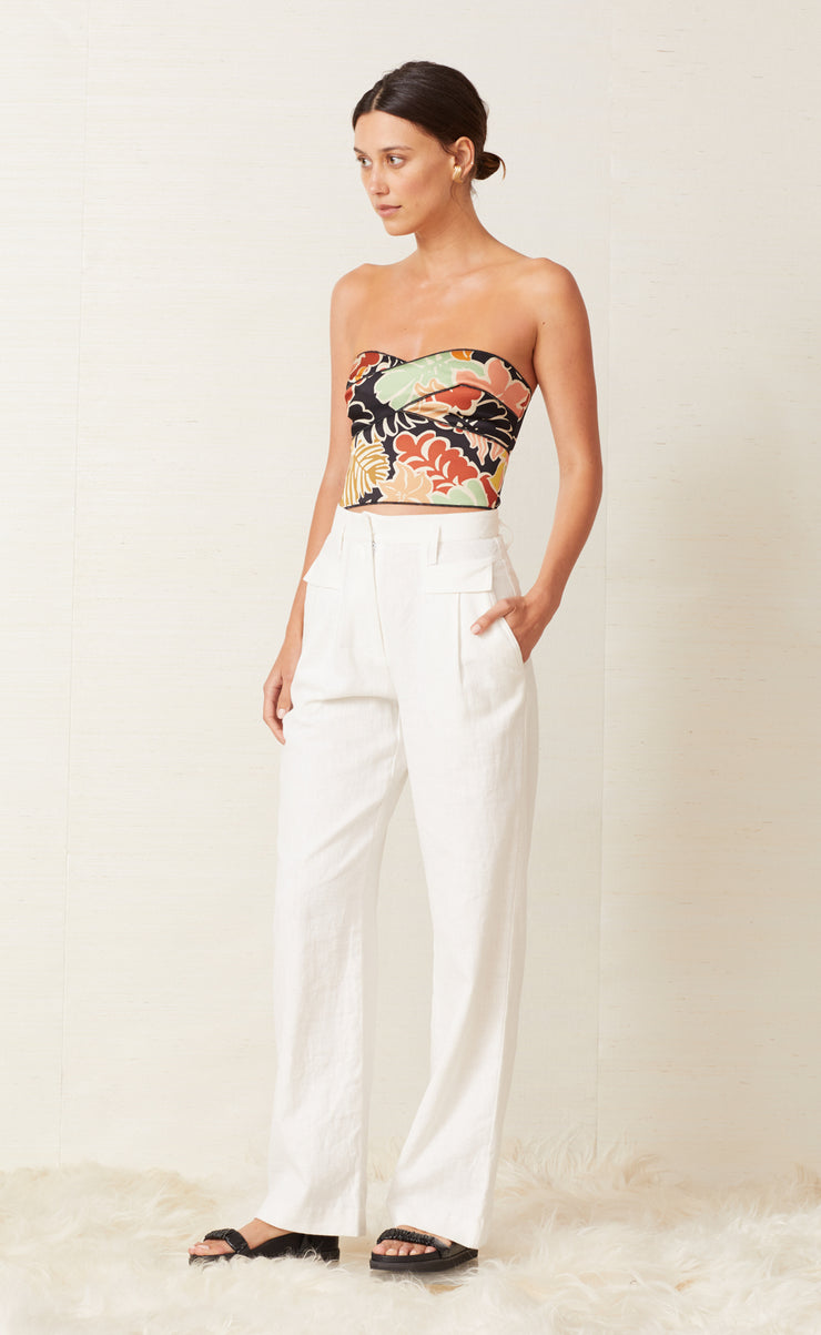 BABELINI TOP - FLORAL