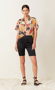 BARRIER REEF TOP - FLORAL