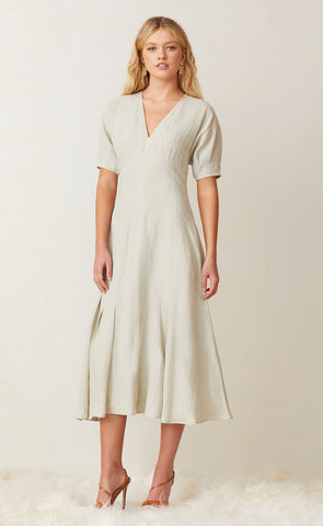 CHARLIE MIDI DRESS - SILT
