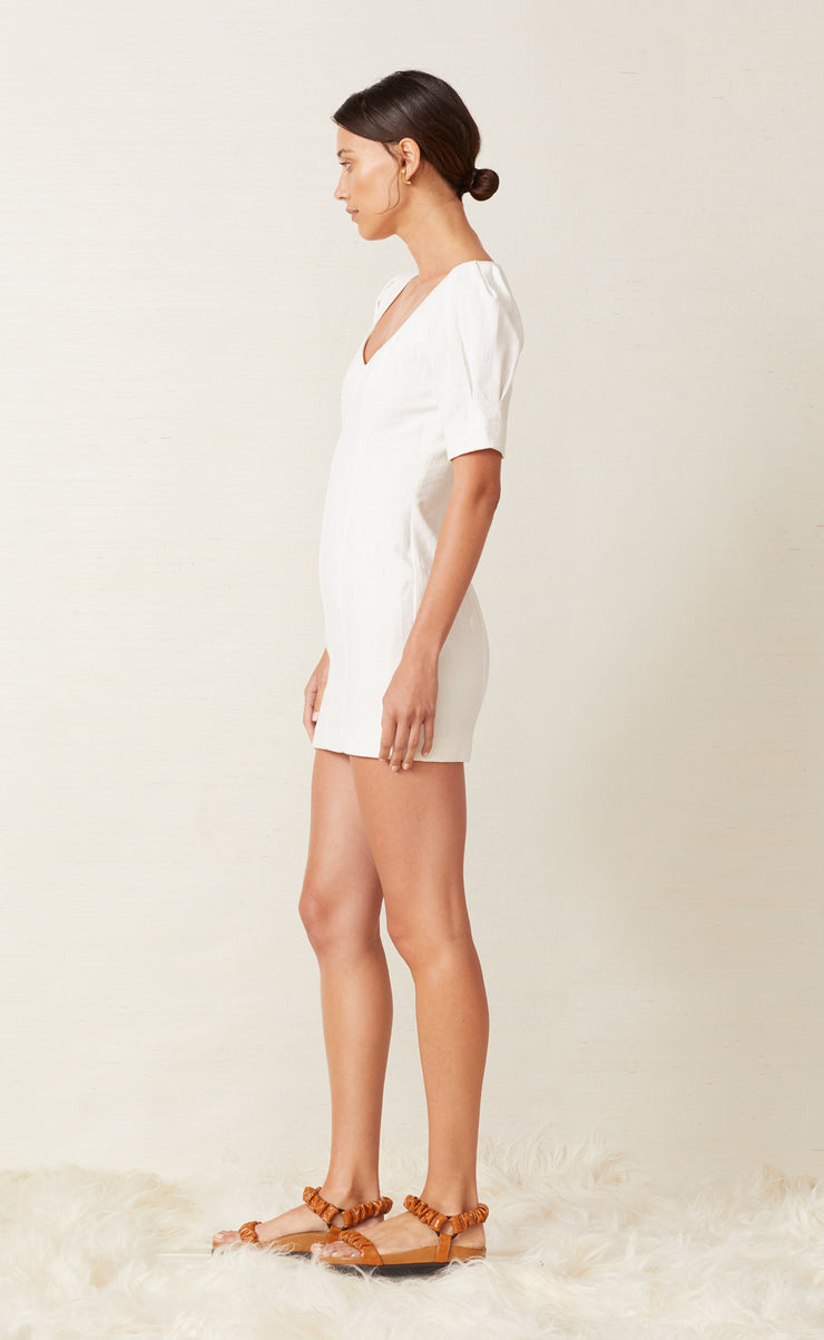 CORAL CLUB MINI DRESS - IVORY