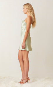 CREST MINI DRESS - PEPPERMINT