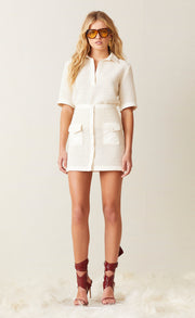 COCONUT MINI SKIRT - IVORY