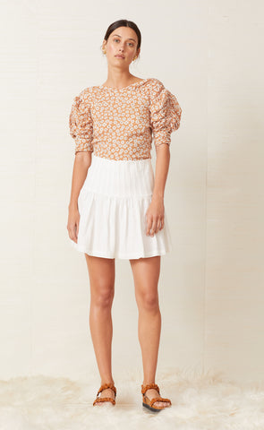 CHARLIE MINI SKIRT - IVORY
