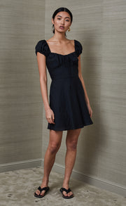 MARLA MINI DRESS  - BLACK