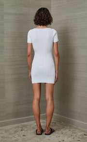 DEJA VU MINI DRESS - IVORY