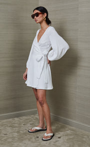 MARLOWE MINI DRESS - IVORY