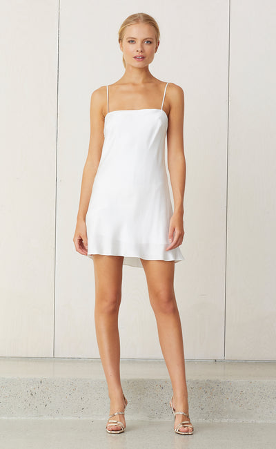 CLASSIC MINI DRESS - IVORY